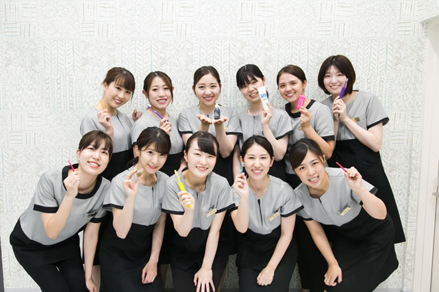 歯科衛生士(2022年度の採用は定員に達しましたので、終了いたしました。)